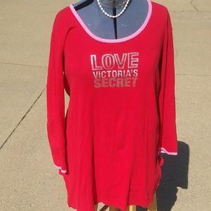 Love Victoria's Secret Nightshirt Sleepwear Large